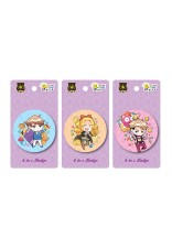 Prince Series 58mm - 4 in 1 Badges (3 Designs)